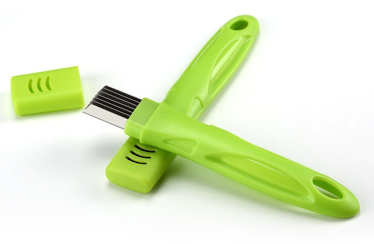 Honana VT-OS Stainless Steel Green Onion Slicer Shredder Cutter Vegetable Scallion Shred Cut Tool