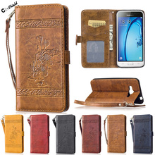 Flip Case SM-J320FN for Samsung Galaxy J3 J 3 2016 320 J320 J320FN SM-J320F/DS J320F/DS J320F SM-J320F Case Phone Leather Cover(China)