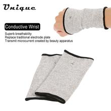 Conductive Wrist Electrode Massage Wristband for Tens Machine 1 Pair Electrotherapy Wristguard for Pain Relief Massager(China)