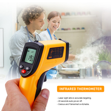 Hot Digital GM320 Infrared Thermometer Gun Non-Contact Temperature Infrared Thermometer For Hot Water Pipes Cooking Surfaces