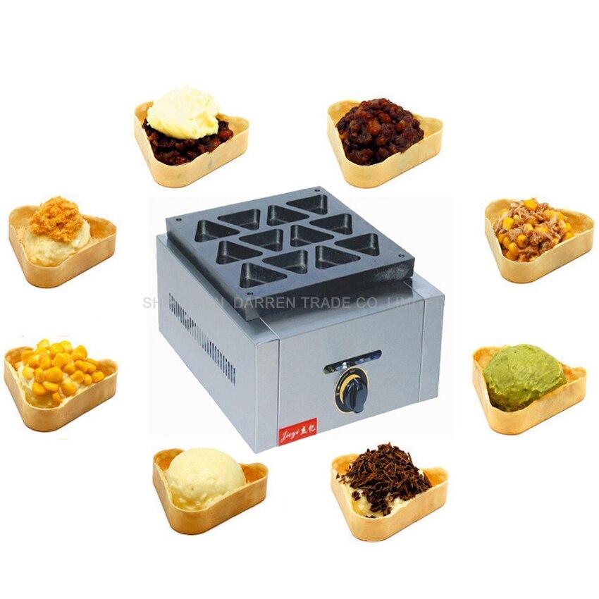 3 PC 12hole gas type Red Bean Cake Machine/Triangle type red bean cake machine/Cake baker/ Baking equipment<br><br>Aliexpress