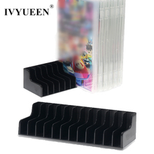IVYUEEN 2 pcs Black Storage Stand for Nintend Switch NS Game Card Box Holder CD Disk Support