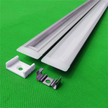 5-15PCS/lot 40inch 1m long anodized led aluminium profile for 5050/5630 strip ,12mm pcb embedded LED bar light AP-24.5*7(China)