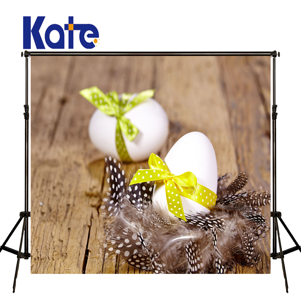 Easter Photography Backdrops Bow Egg Feather Bench Clothing Easter Day Zj<br>