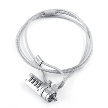 Laptop Combination Security Lock Cable Chain Theft Deterrent 4 Digit Password for Notebook PC