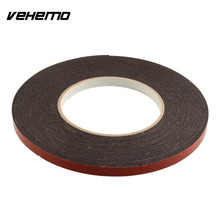 New Double Sided Car Truck Vehicle Trim Moulding & Badge Foam Sticky Tape Strong Adhesive 6mmx10m Heavy Duty(China)
