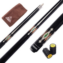 CUESOUL Pool Cue Stick Billiard Cue with 13mm Cue Tip,Free Cue Clean Towel,Cue Joint Protector CSBK007