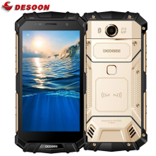 "Doogee S60 IP68 Waterproof Mobile Phone 5580mAh 12V/2A Wireless Charge 5.2"" FHD 6GB+64GB 21.0 MP Glonass NFC Touch ID 4G Lte"