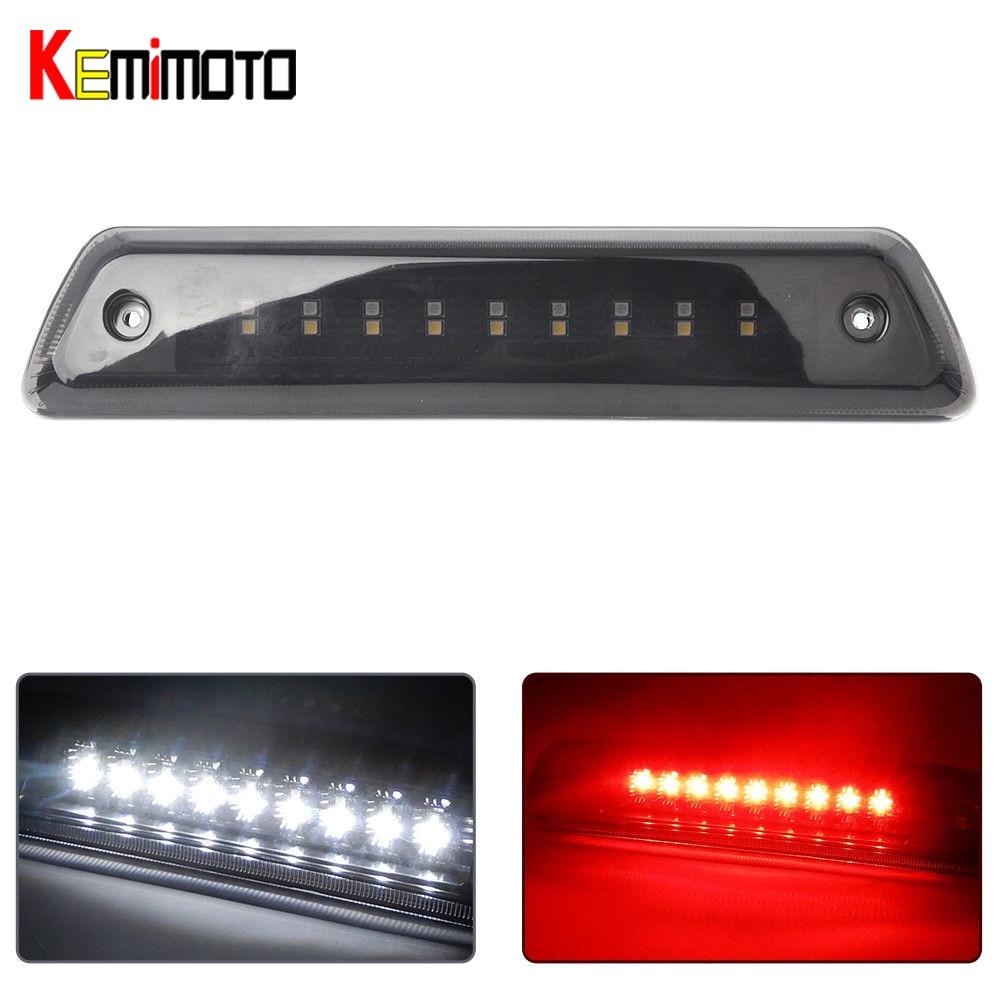KEMiMOTO For 2009-14 F150 3rd Brake Light Truck Waterproof High Mount Reverse Stop Light <br>