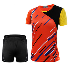 New Badminton Jersey Male/Female , Sports Badminton clothes , Badminton sets ,Table Tennis sets 5050(China)