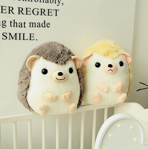45cm New lovely rounded hedgehog doll plush toy hedgehog pillow birthday gift<br>
