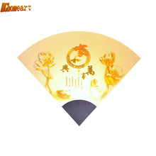HGhomeart Reading Lamps Wall Mounted Chinese Style Acrylic Bedroom Wall Lighting Contemporary Led Wall Lamps Mirror Led Light(China)