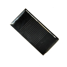 HOT Sale Mini 0.14W 0.5V 280MA Solar Panel Solar Cell DIY Solar Experiment Toy Solar Moudle 30*60*3MM High Quality(China)