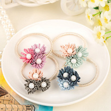 Women Summer Style Hair Accessories Handmade Elastic Hair Bands Gum For Hair Acessories