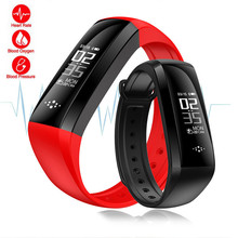 0.96inch M2 M2S Smart Wristband Bracelet Fitness Tracker Blood Pressure Oximeter Pedometer Heart Rate For Xiaomi iPhone Phone
