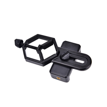 black Digiscoping Binocular telescopes Spotting Scope Cellphone Adapter Mount for Rifle Scope Camera