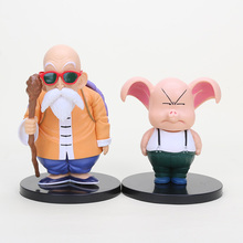 11-15cm Dragon Ball Master Roshi Action Figure 1/8 scale painted figure Oolong Doll PVC Action Figure Collectible Model Toy(China)