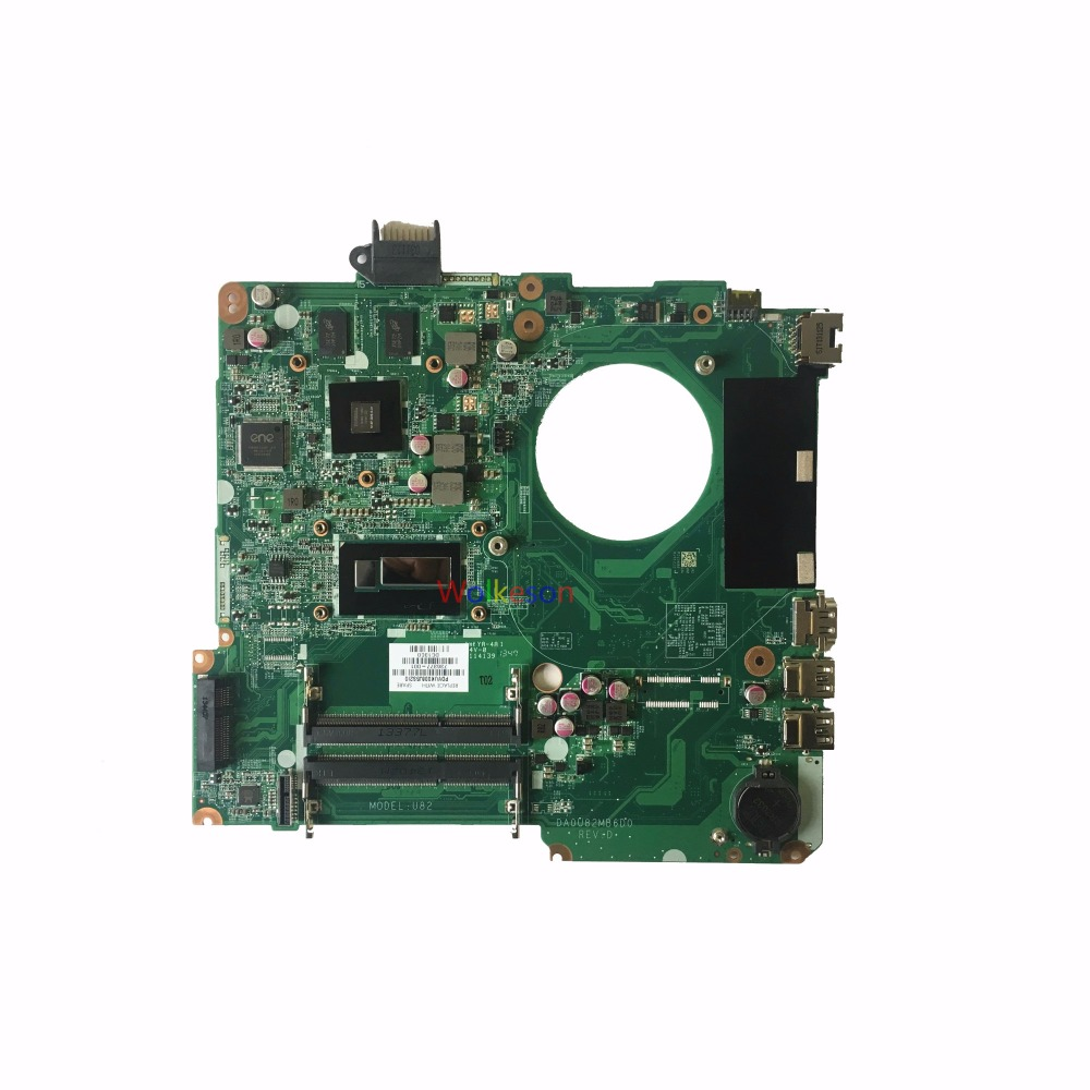 SHELI FOR HP 15-N 15-N028TX Laptop Motherboard W/ I5-4200U CPU 736377-001 DA0U82MB6D0 740M 2GB GPU DDR3 Test Oke
