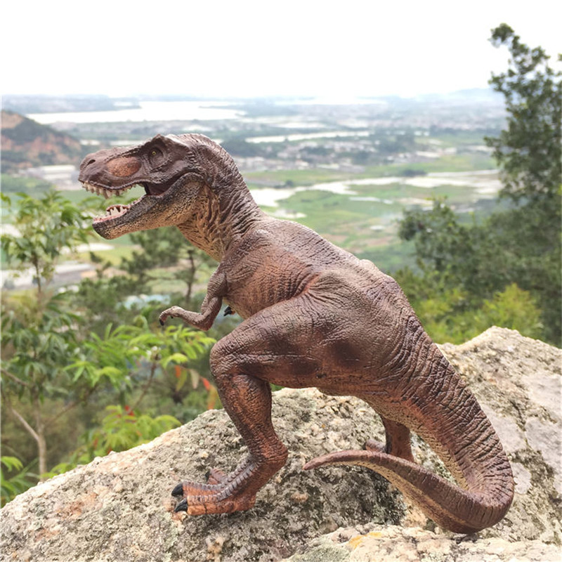 Jurassic Tyrannosaurus Rex T-Rex Dinosaur Mouth Can Open Dinossauro Toy Model Action Figures Toys For Kids Birthday Gifts<br>