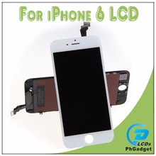 AAA Touch Screen Digitizer LCD Display Assembly Replacement For Apple IPhone 6 6G Black and White Top Quality 100% Tested