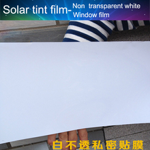 Premium Window tint film Super High quality Privacy Window film 1.52MX30M Roll Size Solar Film For Office/HotelBathroom(China)