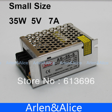 35W 5V 7A 100V-240V INPUT  Small Volume Single Output Switching power supply for LED Strip light