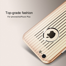 Metal protective sleeve i6 6S high quality case for iphone and real mobile phone 6s shell design