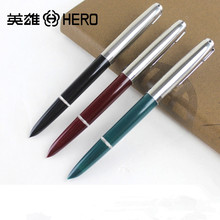 3Pcs / Lot Plastic Hero Brand 616 Fountain Pen ink for Calligraphy Writing Office Supplies Stationery Wholesale(China)