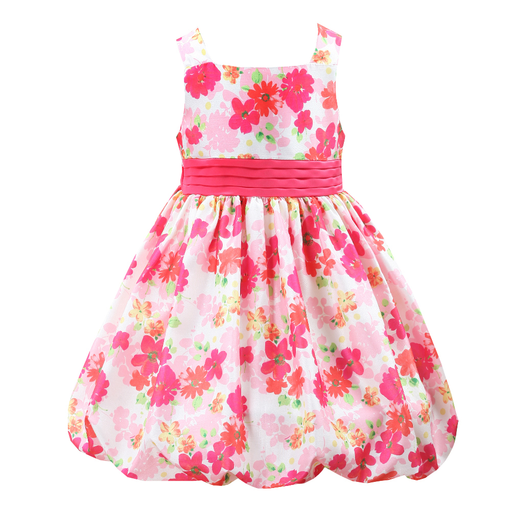 HIHEART 2017 Fashion Cute Princess Dress Pretty Printing Lantern Party Pageant  Dresses Euro and America TuTu Child Clothing<br><br>Aliexpress