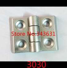 10pcs Aluminum Profile Accessories Hinges For 3030 Aluminum Profile