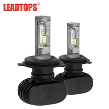 LEADTOPS H4 LED Bulbs Hi-Lo Beam Car Headlight 50W 6500K 8000lm Auto Led Headlamp CSP Chips Headlights for Toyota/Hyundai/Kia CE(China)