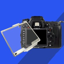 Transparent Hard Pastic LCD Screen Protector Monitor Cover BM-11 For Nikon