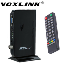 Full-HD Smart TV Box External LCD CRT VGA External TV Tuner PC BOX Receiver 1080P Speaker set top box with Remote Control(China)