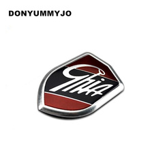 Car Sticker Emblems GHIA Side Shield Logo Marked Stickers For Ford Focus Mondeo Fiesta Ecosport Kuga Edge Explorer expedition(China)