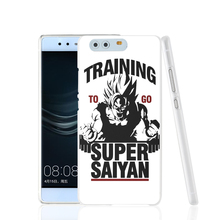 17451 Training to go Super Saiyan Dragon ball Z cell phone Cover Case for huawei Ascend P7 P8 P9 lite Maimang G8