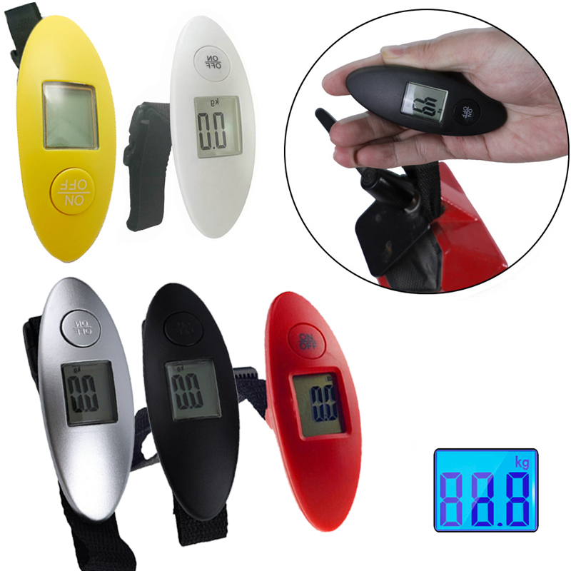 Balanza portatil electrónica de mano para maletas