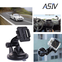 Gopro Accessories Car Sucker Holder Mount Suction Cup for Go Pro Hero 5/4/3/3+/2 SJ5000 SJ4000 Mini Camcorder Action Camera DVR