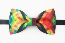 Free shipping new fashion casual male promotion Headdress design Handmade bright colorful groom bow tie groom wedding men's(China)