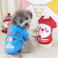 Dropshipping Best Sell High Quality Puppy Pets Clothing Christmas New Year Decoration Dog Spring  Winter Clothes WH