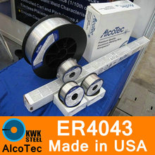 ER4043 AlcoTec Made in USA Aluminum Welding Wire Almigweld Premium Quality Al Si Alloy Welding Wire 1-5mm
