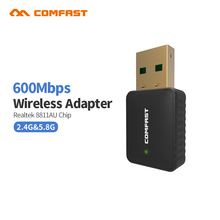 2017 Comfast CF-915AC 600M AC USB 5Ghz Wireless AC600 Dual Band 802.11ac antena wifi 2dBI Adapter Comfast Wi-fi Network LAN Card(China)