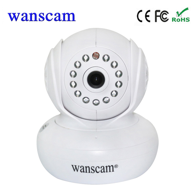 Wanscam HW0021 Home Security IP Camera Wifi Wirless CCTV P2P 720P Dome Pan/Tilt Camera Baby Monitor Surveillance Camera<br>