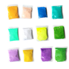Multicolor Handmade DIY Soft Polymer Foam Modelling Clay Set Snow Pearl Mud Playdough Educational Plasticine Toys for kids(China)