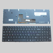 US NEW Keyboard for Clevo p650se Sager NP8651 P6500  MP-13H83USJ430B English Laptop Keyboard with Backlit