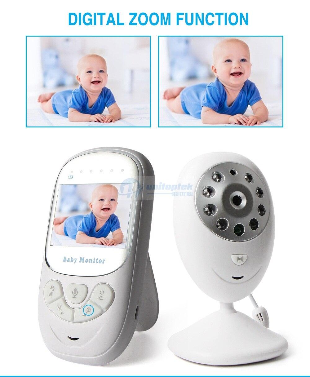 Baby Monitor Digital Video /Überwachung Nachtsicht Kamera Babyphone 2,4Zoll