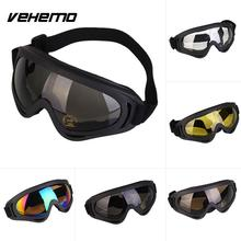 VEHEMO Outdoor Sport Cool Motocross ATV Dirt Bike Goggles Off Road Racing Goggles  glasses  Anti-UV Stying