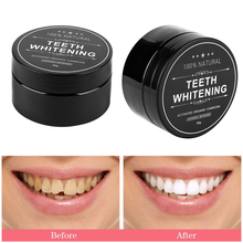 1 Box Natural Teeth Whitening Powder Bamboo Charcoal Cleaning Activated Charcoal Tooth Powder Dental Oral Healthy Care Tools(China)