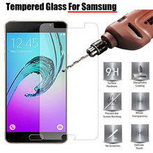 0.26mm 9H Tempered Glass For Samsung Galaxy S3 S4 S5 S6 Mini A3 A5 A7 J1 J3 J5 J7 2015 2016 Grand Prime Screen Protector Film