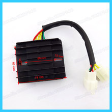6 wires 12V DC Voltage Regulator Rectifier for GY6 150cc 200cc 250cc Moped Scooter pit dirt bikes Go Kart  quad ATV