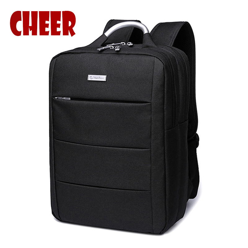 Fashion backpack men  bag vintage nylon backpack f...